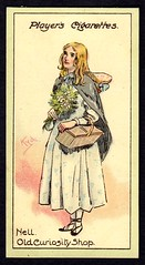 Cigarette Card - Nell (cigcardpix) Tags: vintage advertising ephemera dickens cigarettecards