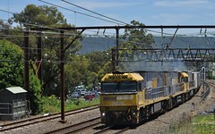 1PS6 Penrith (highplains68) Tags: railroad rail railway australia nsw newsouthwales aus penrith sydneytrains pacificnational westernline nrclass superfreighter nr78 mainwest kingswoodbank 1ps6