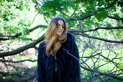 (StefanoMajno) Tags: wood trees light shadow portrait italy sun nature colors girl beauty lines canon reflections river naked fur photography model eyes focus shadows wind andrea north perspective sensual persone shooting mirrorball stefano outfocused outfocus majno
