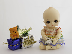(KnittedBeads) Tags: doll dress nappy knit choo bjd soom popo knittedbeads nappychoo