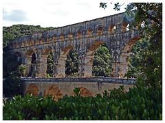 Pont du Gard (abac077) Tags: france monument 30 architecture pontdugard gard aqueduc languedocroussillon 2015 aqueducromain aqueducdenimes