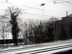 view from train Bielefeld Germany 26th January 2014 snow  26-01-2014 15-17-02 (dennoir) Tags: from snow train germany view january bielefeld 26th 2014 151702 26012014