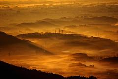 morning haze (Bookriver.) Tags: morning cloud mist art japan fog clouds sunrise haze holidaysvacanzeurlaub