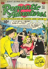 Romantic Adventures 8 (Michael Vance1) Tags: woman man art love comics artist marriage romance lovers dating comicbooks relationships cartoonist anthology