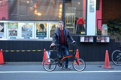 Fredrik Gertten - Bikes vs Cars Japan Premiere (owenfinn16) Tags: japan tokyo premiere fredrik dahon jpan vigor uplink d11 gertten bikesvscars