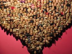 Where's Barbie? (KevinWatson.net) Tags: barcelona bar dolls barbie heads february 2016 sorrita
