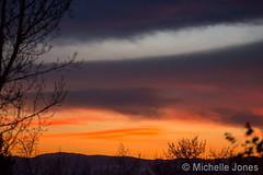 January 12, 2016 - A beautiful sunset in Thornton. (Michelle Jones)