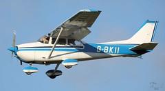 Reims-Cessna F172M Skyhawk II G-BKII Lee on Solent Airfield 2016 (SupaSmokey) Tags: ii lee solent skyhawk airfield 2016 reimscessna f172m gbkii
