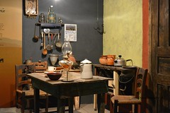 The kitchen, la cocina, Museo de las Momias (dsancheze1966) Tags: kitchen museum mexico cocina coahuila momias braillealphabet sanantoniodelasalazanas alfabetobraille