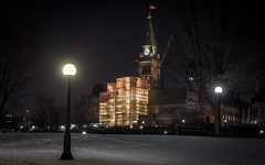 Pixelated Parliament : January 25, 2016 (jpeltzer) Tags: night downtown ottawa parliament parliamenthill pixelatedparliament