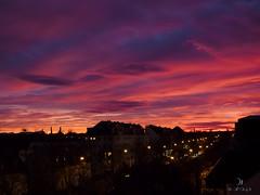 Mnchner Himmel (acahaya) Tags: sunset sky germany munich mnchen bayern bavaria amazing colorful olympus stunning omd em1 mft acahaya