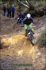 Number 150 Red Lady Rider (Triumph Twin) (bokosphotos) Tags: panasonic triumph trials aldershot hungryhill yearly ladyrider trialsbikes pre65 motorcycletrials pre65trials talmag panasonicgh3 dmcgh3 1235f28lens talmagtrial2016 hungryhillaldershot