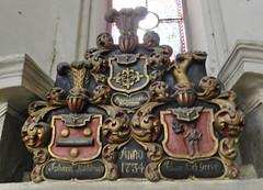 Escudos herdicos Catedral Luterana Santa Maria o de la Cpula Riga Letonia 09 (Rafael Gomez - http://micamara.es) Tags: santa de la o maria dom catedral riga doms luterana zu cpula letonia escudos rgas herdicos