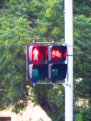 New Braums LED Cyclist Signals - Fitzroy Tce/Jeffcott Rd/Park Tce/Torrens Rd intersection, Fitzroy (RS 1990) Tags: bike lights cyclist traffic fitzroy january pedestrian led signals adelaide friday southaustralia aldridge northadelaide 29th 2016 braums parktce torrensrd fitzroytce jeffcottrd
