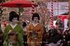 Tea ceremony at the Kitano Tenman-gū Shrine (北野天満宮) in Kyoto! (KyotoDreamTrips) Tags: japan kyoto teaceremony shinto 北野天満宮 菅原道真 plumblossomfestival 梅花祭 kitanotenmangū sugawaranomichizane 野点大茶湯