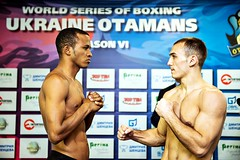 Week 7 Group A Weigh In Ukraine Otamans vs Cuba Domadores (World Series Boxing) Tags: wsb boxing weighin week7 groupa worldseriesboxing ukraineotamans cubadomadores