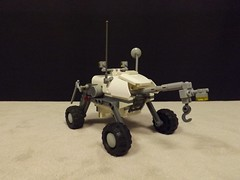 General Purpose Utility Rover (Ug the Pug) Tags: lego space rover fi exploration tow sci