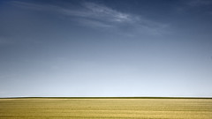 Let Your Soul Dance and your Thoughts Fly (panfot_O (Bernd Walz)) Tags: sky color field rural countryside space fineart minimal colorized zen fields minimalism vastness contemplation emptyness philosophical