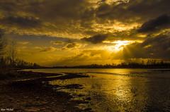 Sunrise On The Gila River (Ken Mickel) Tags: arizona nature sunrise landscape outdoors photography waterscape gilariver avondalearizona