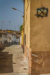 The Corner (La Esquina) (amatulow) Tags: street sky españa house color corner canon eos rebel 50mm casa calle spain village small pueblo places cielo lugares esquina t3 18 curiosity rincon t3i curiosos 1100d