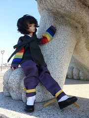 Byrne in Korea (almyki) Tags: boy male face ball kyle asian doll 14 tan mini dreaming fairy korean tiny hanbok bjd bf abjd joint msd tf sculpt bluefairy