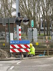 spoorwegovergang Emplacementsweg Beverwijk_20160215-04 (PieterBeverwijk) Tags: beverwijk spoorwegovergang ahob pnm emplacementsweg