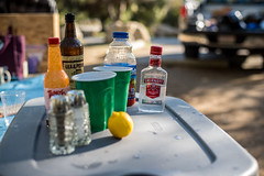Leo Carrillo Bloody Mary (jimsheaffer) Tags: california camping alcohol vodka smirnoff bloodymary beachcamping leocarrillo leocarrillostatebeach nikond750