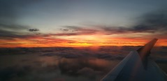 Daybreak from seat 16D