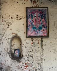 Gods of the wall (Shrimaitreya) Tags: india wall religious icons vishnu god ganesh maharashtra hindu hinduism pune ganapati bharat