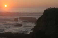pac  sun (Norscout) Tags: ocean sf sanfrancisco sunset pacific marin pacificocean goldengatebridge goldengate headlands sanfran