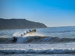 Sunrise over Dee Why (JoPMas) Tags: beach sunrise boat surf welding weld longboat deewhy surflifesavers slsf
