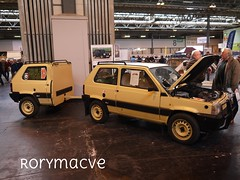 One and a Half Panda's! (Rorymacve Part II) Tags: auto road bus heritage cars sports car truck automobile estate fiat transport historic renault motor saloon compact roadster fiatpanda renault5 motorvehicle