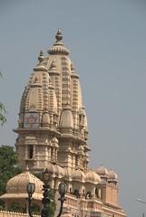 Main Temple Spires (VinayakH) Tags: india religious temple delhi hindu hinduism chattarpur katyayani