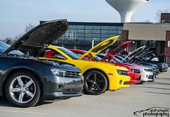 South West Ohio Camaro club (scott597) Tags: blue ohio red black west cars coffee yellow club grey south ss camaro greene rs dayton 2016 camaro5