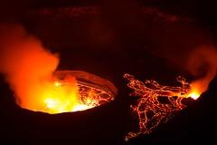 DRC - Nyiragongo volcano, lava lake (4) (lukasz.semeniuk) Tags: volcano lava crater lavalake democraticrepublicofcongo nyiragongo