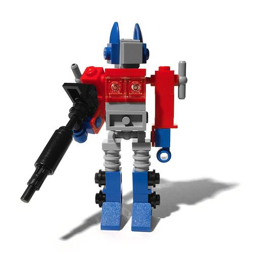 LEGO Mini Optimus Prime - Robot Mode