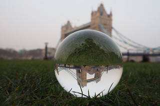 Tower Bridge in a ball