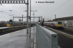 9003 and 22055 depart Connolly, 4/4/16 (hurricanemk1c) Tags: dublin irish train rail railway trains enterprise railways irishrail nir 9003 2016 connolly iarnrd dedietrich ireann northernirelandrailways iarnrdireann 1650dublinconnollybelfastcentral