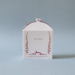e (Elsita (Elsa Mora)) Tags: christmas paperart card redandwhite papercraft holidaycard papercutout elsita papercutting elsamora