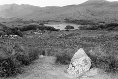 Ladies View 01 (Ian Atrus Gazzotti  iangazzotti.com) Tags: park ireland ladies blackandwhite bw lake monochrome analog 35mm nikon view bn upper national killarney biancoenero irlanda f70