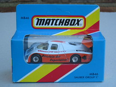 Vintage Matchbox MB46 Sauber Group C Race Car Boxed 1980's Retro Toy (beetle2001cybergreen) Tags: car race vintage toy c group retro sauber boxed 1980s matchbox mb46