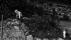 Slack and stack (mavparadeza) Tags: city blackandwhite bw monochrome market candid sony philippines streetphotography photojournalism documentary baguio palengke ph sel e16 photojourn eskinita cordilleraadministrativeregion a6000 emount sel16f28 e16mm mavpar mavparadeza paradeza ilce6000 sonya6000