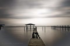 Abandoned-Pier (sandracanning) Tags: longexposure seascape abandoned water pier florida fineart filter nd pilings toned neutraldensity woodenpier nd110 sandracanning
