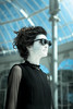 wOmAn FuTuRe (jarufocontreras@gmail.com) Tags: madrid woman fashion de glasses mujer chica crystal gothic el palace modelo fotos future gafas cristal retiro rostro negras palacio gótica sesión pálido futurista