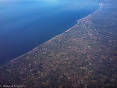 Border (ZimaPhoto) Tags: blue italy nature beauty landscape view tranquility nopeople aerial elevated idyllic scenics nonurbanscene traveldestinatio dimitriangeliniphoto physivalgeography