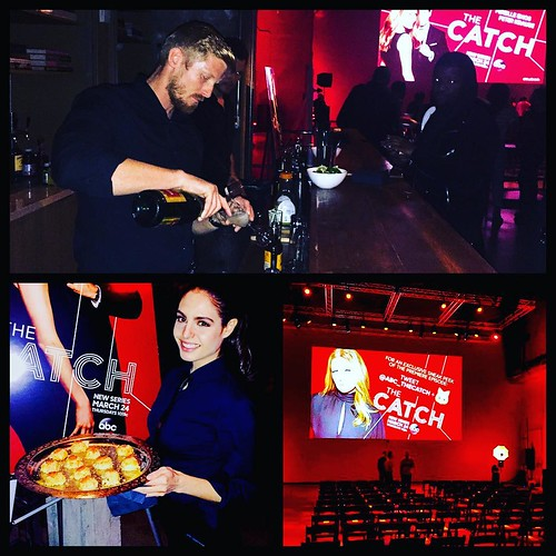 #ABC #TheCatch screening party! Love 💕 #ShondaRhimes! #abcnetwork #TGIT @abcnetwork #neuehousela #bartenders #servers #events #eventlife #staffing #hollywood #girlboss #200ProofLA #200Proof
