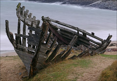 No Fishing Today (McRusty) Tags: beach rotting bay scotland ship decay north highland shipwreck wreck talmine
