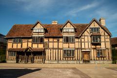 Shakespeare House (dprezat) Tags: uk england house nikon shakespeare angleterre warwickshire stratforduponavon newplace d800 nikond800