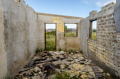 "Ruinas por ""El Tigre"" (pedrobueno_cruz) Tags: california door blue windows sky house verde green abandoned colors mxico clouds landscape photography spring nikon photographer el ensenada baja tigre 2016 explored"