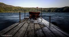Boat (MARCOCARCEAPH) Tags: longexposure italy lake rome roma lago pier boat nikon barca italia hdr lazio pontile rm d5100